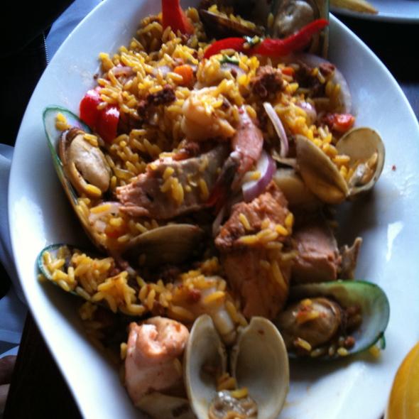 Seafood Paella w/ Chorizo @ Old Fisherman's Grotto