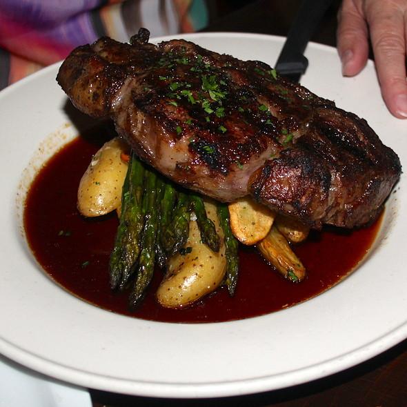 Pepper Rib Eye Steak - Iva Lee's, San Clemente, CA