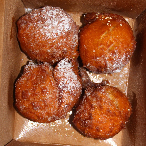 Pear Beignets - Iva Lee's, San Clemente, CA