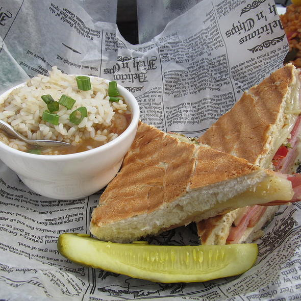 Soup N' Sandwich Combo  - JIMMY BUFFETT'S MARGARITAVILLE at Universal CityWalk, Orlando, FL