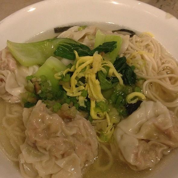 Wonton Noodle Soup @ Noodle House