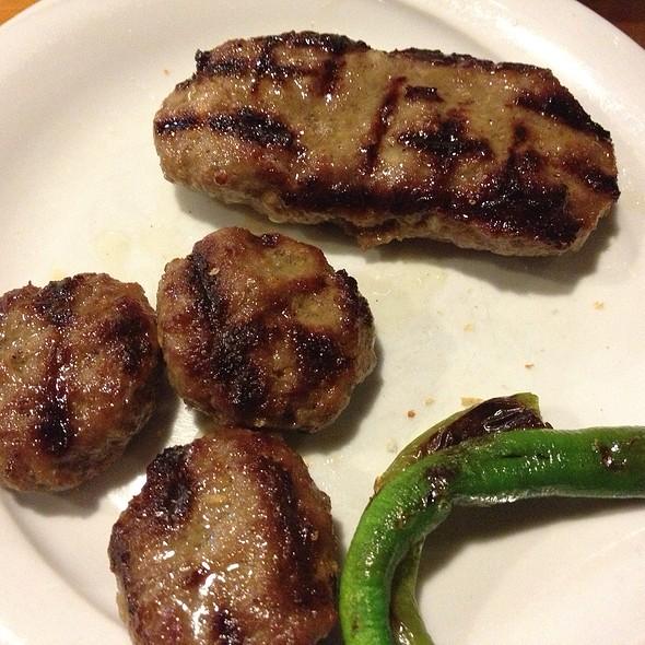 Köfte @ Kirkpinar Kasap Restaurant