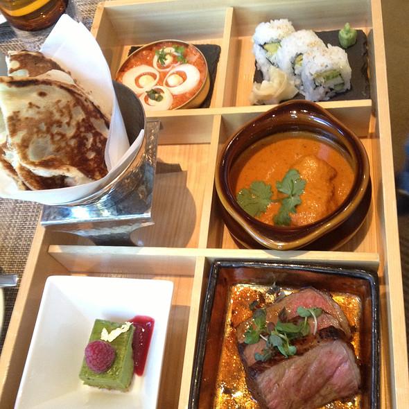 Bento Box for Restaurant Week - MOzen Bistro - Mandarin Oriental, Las Vegas, Las Vegas, NV