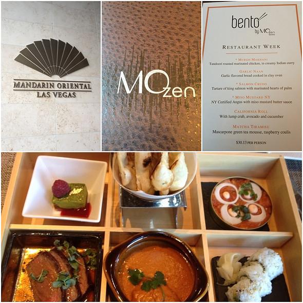 Lunch - MOzen Bistro - Mandarin Oriental, Las Vegas, Las Vegas, NV