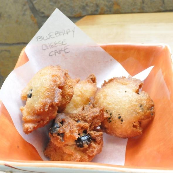Blueberry Cheesecake Andagi @ Nu'uanu Okazuya