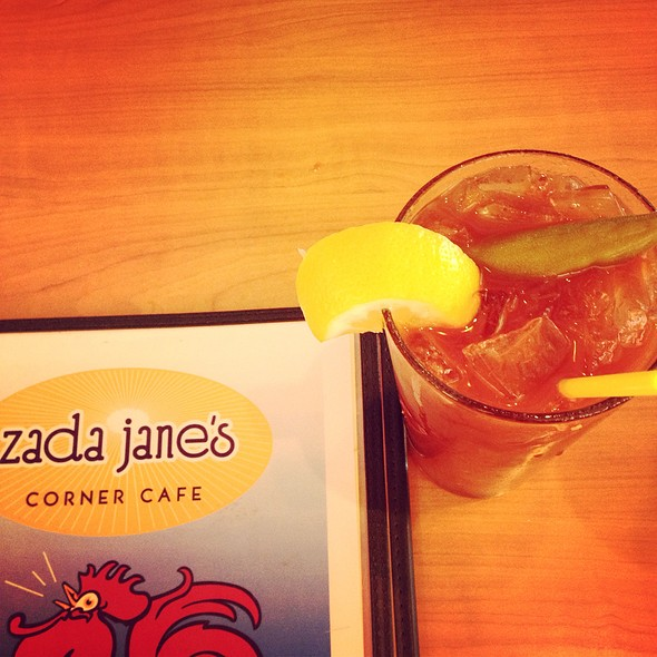 Bloody Mary @ Zada Jane's Corner Cafe