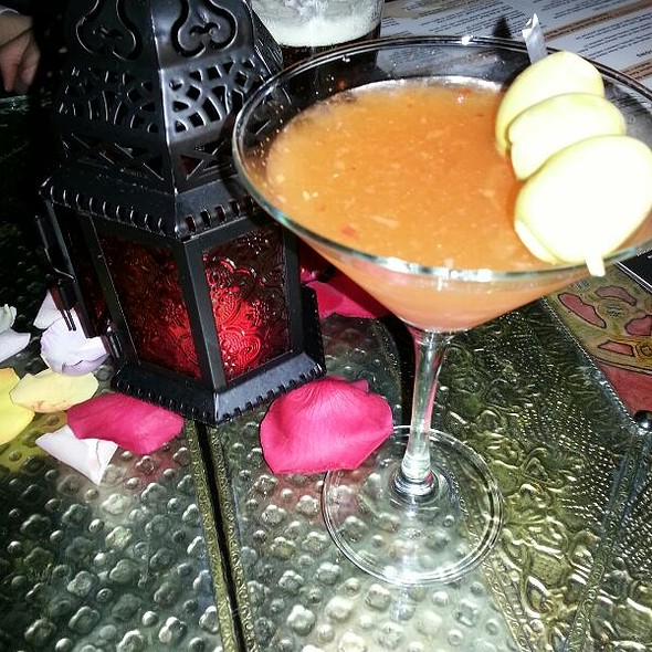 Spiced Bazaar Martini - Tangierino, Charlestown, MA