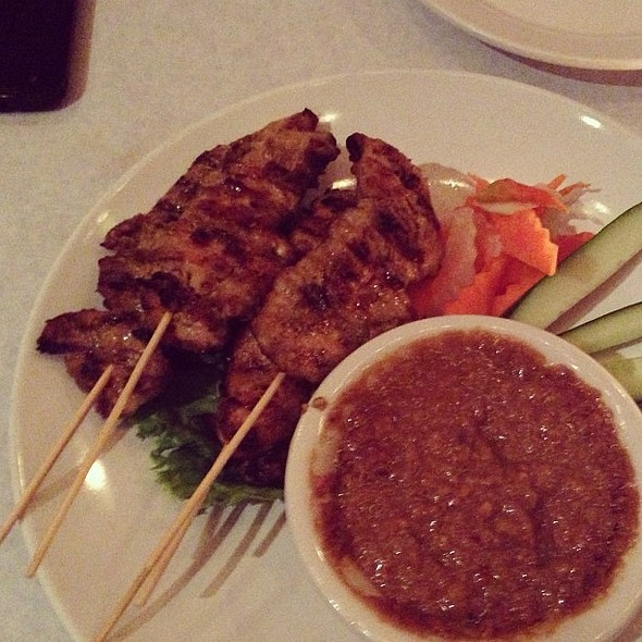 Satay Chicken! @ Saigon Cafe Inc