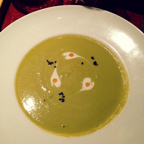 Asparagus Soup @ Redfish