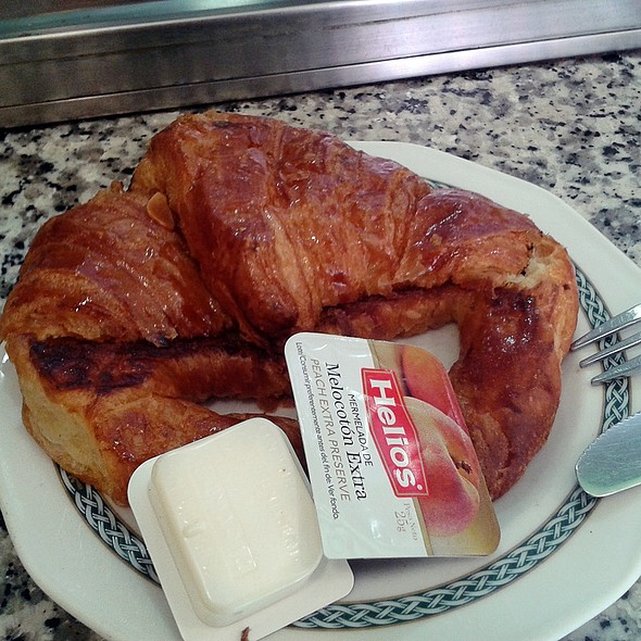 Grilled Croissant @ Cafetería Animari