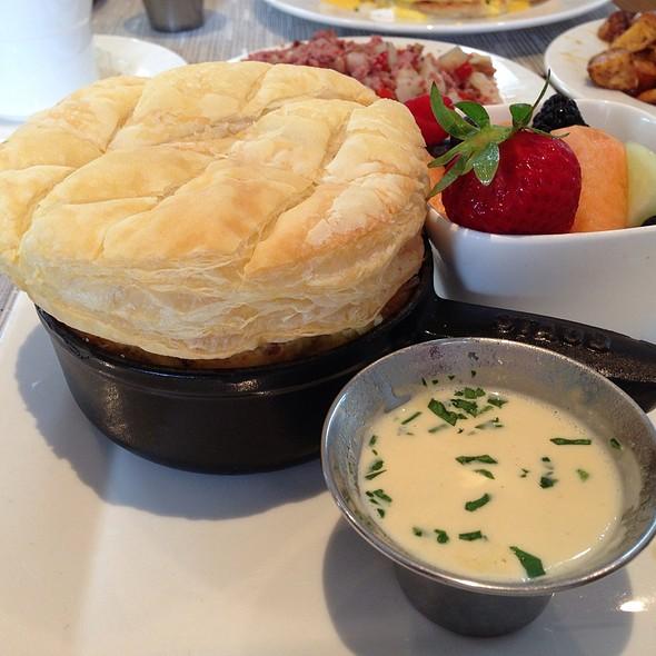 Breakfast Souffle - Sea Porch Restaurant at The Don CeSar, St. Pete Beach, FL