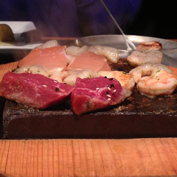 Steak & Shrimp Plate @ Colorado Fondue Co