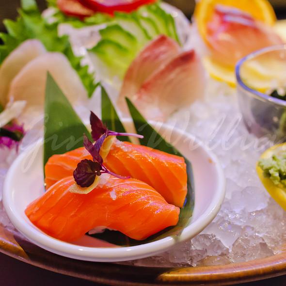 Salmon Nigiri Sushi @ Roka Akor Chicago