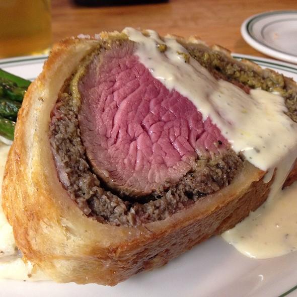 Beef Wellington With Bernaise - The Tavern, Tulsa, OK