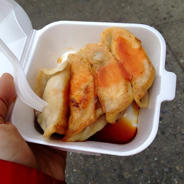 Fried Pork And Chive Dumplings @ Vanessa's Dumplings
