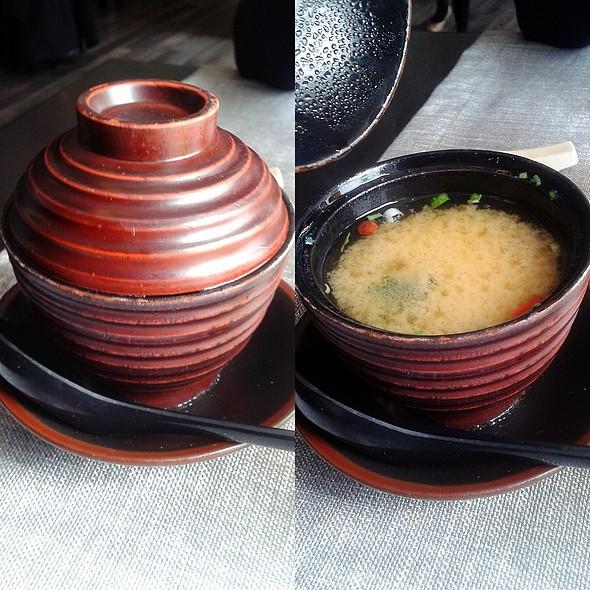 Miso Soup @ Howe Restaurant