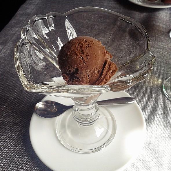 Chocolate ice cream @ Howe