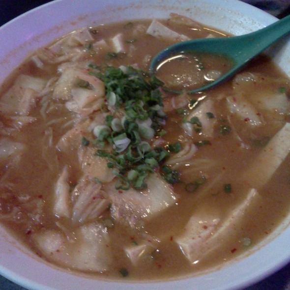 Spicy Tofu Ramen @ Katana-ya