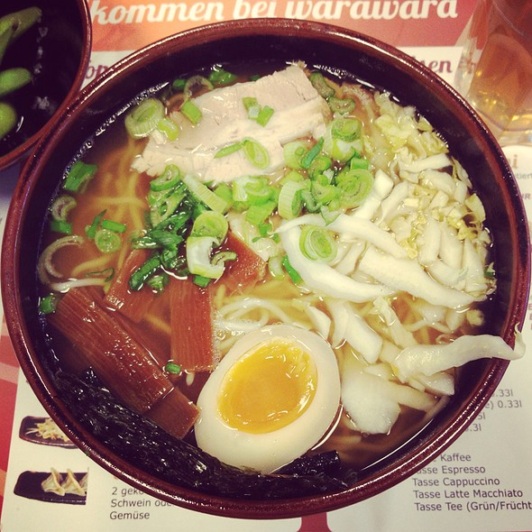 Ramen @ warawara - japanese ramen restaurant