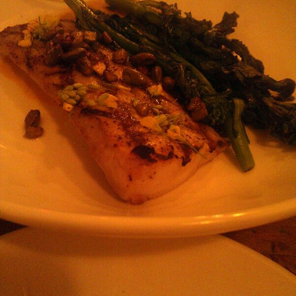 Grilled Spanish Mackerel (Tanigue) @ Thirty Acres