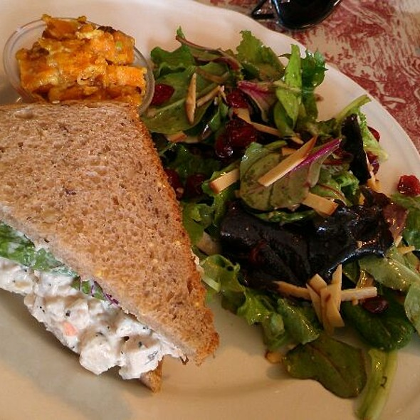 Chicken Salad Sandwich @ The Rolling Pin Cafe