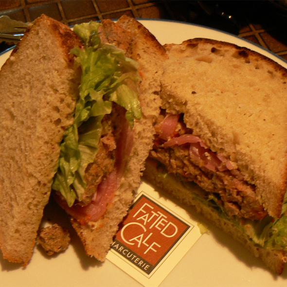 Meatloaf Sandwich @ Fatted Calf