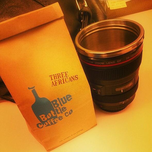 Three Africans Blue Bottle Coffee @ Blue Bottle Coffee