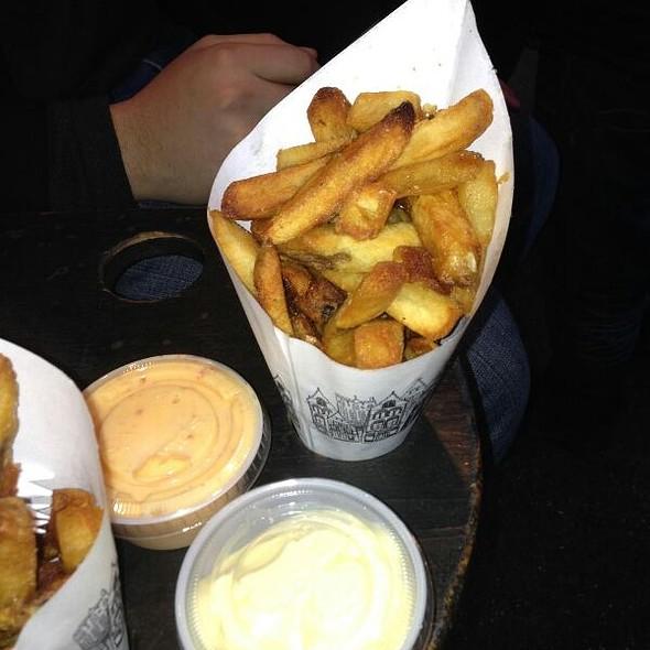Belgian Fries W/ Sweet Mango Chutney Mayo @ Pommes Frites