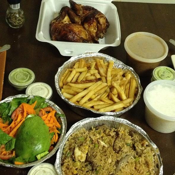 Combo Challaco And Fried Rice @ Pio Pio Riko Corp