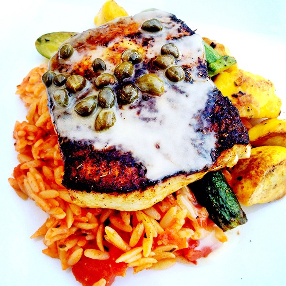 Blackened Swordfish @ Signature Grill at the JW Marriott Starr Pass Resort & Spa