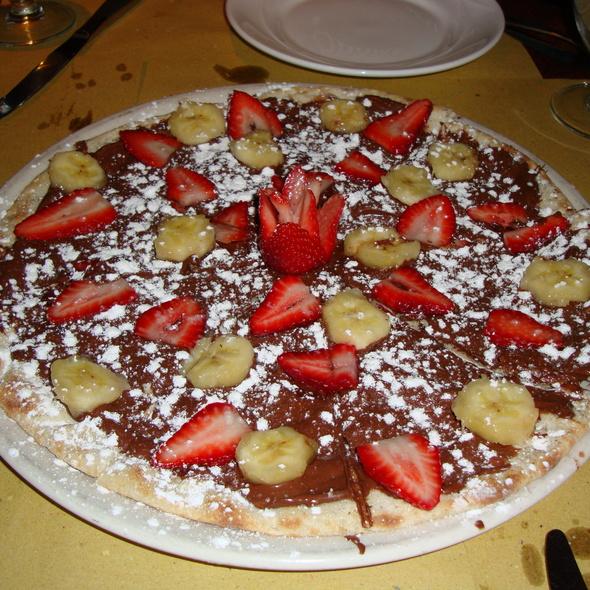 Chocolate Pizza Dessert @ Sorriso
