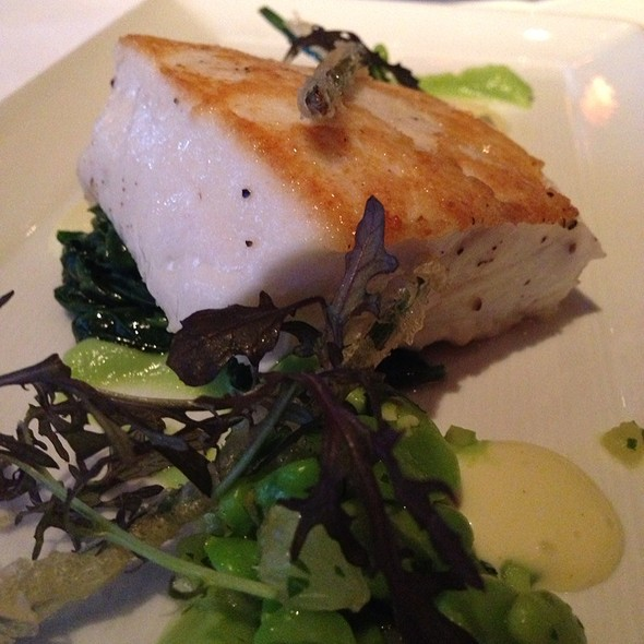 Pan Seared Alaskan Sustainably Harvested Halibut - Boulevard, San Francisco, CA
