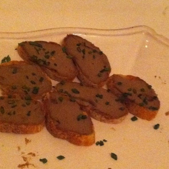Liver Mousse @ Ici
