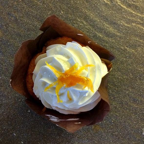 Orange Cardamom Cupcake