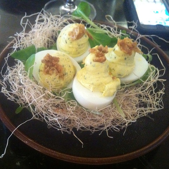 Deviled Eggs With Truffles