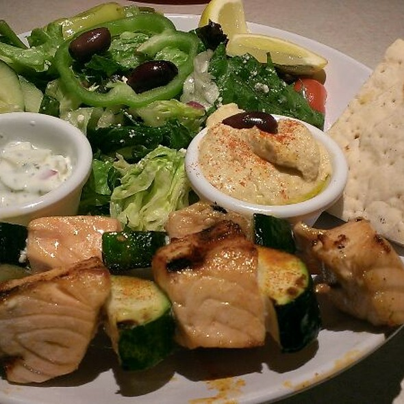 Zoes Kitchen Salmon Kabob zoe's kitchen menu - foodspotting