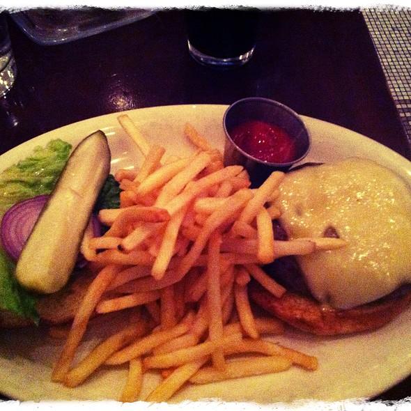 Cheeseburger - Punch Restaurant, New York, NY