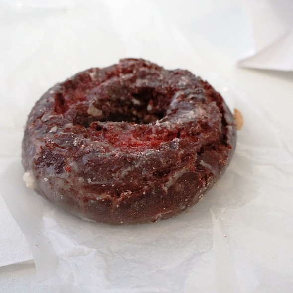 Red Velvet Donut @ Peter Pan Donut & Pastry Shop