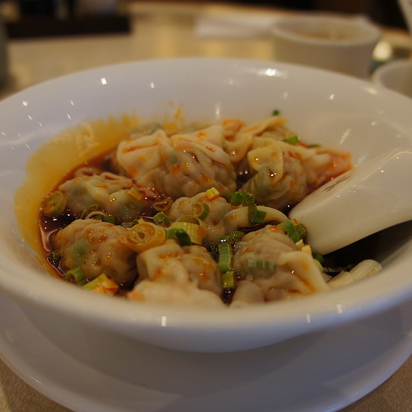 Shanghai Dumplings in Spicy Sauce