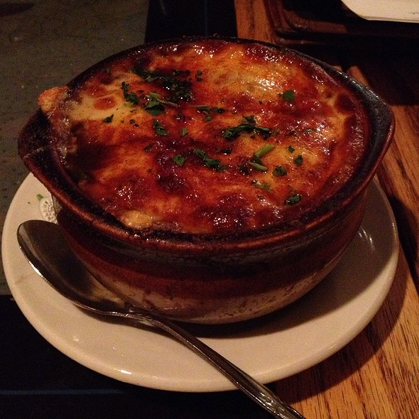 French Onion Soup @ Smuggler's Cove