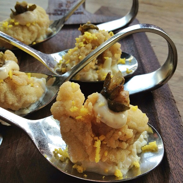 fried oysters @ The Girl And The Goat
