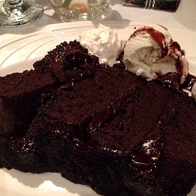 Chocolate Seduction Cake - Arthur's Prime Steakhouse, Little Rock, AR