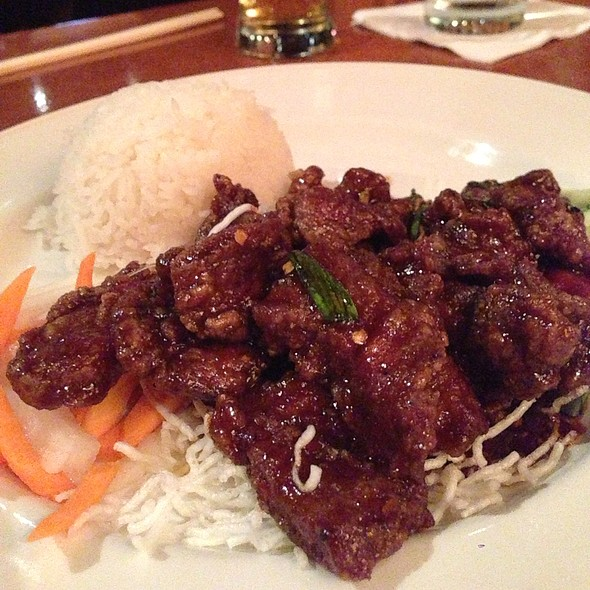 Crispy Beef - Steel Restaurant & Lounge - Dallas, Dallas, TX