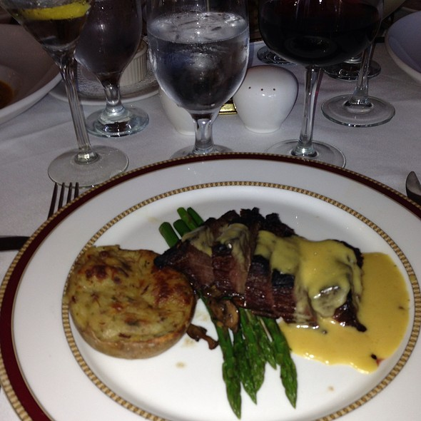 Grilled Sirloin (8 Oz.) - Old Angler's Inn, Potomac, MD