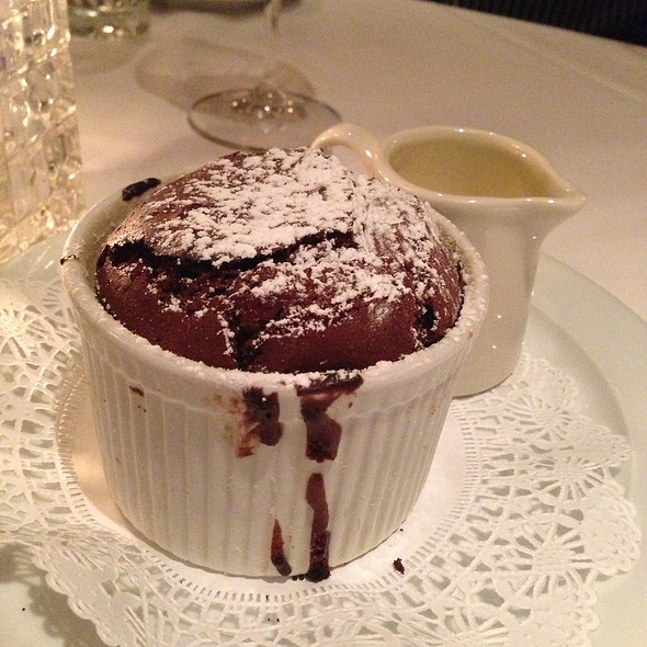 Steak House In Long Beach Part - 36: Chocolate Souffle At 555 East American Steakhouse
