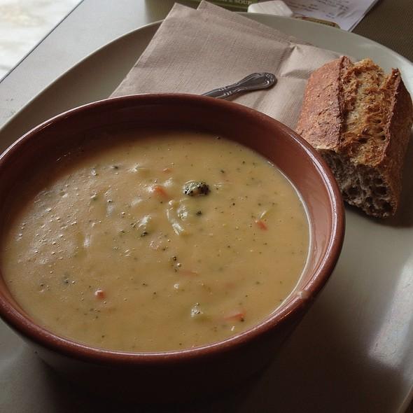 Broccoli Cheese Soup @ Panera Bread