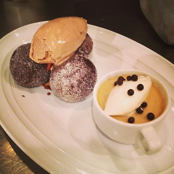 Coffee and Doughnuts - Spago - Las Vegas, Las Vegas, NV