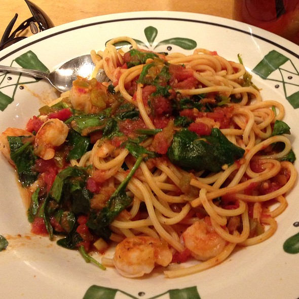 Spicy Shrimp Vesuvio @ Olive Garden