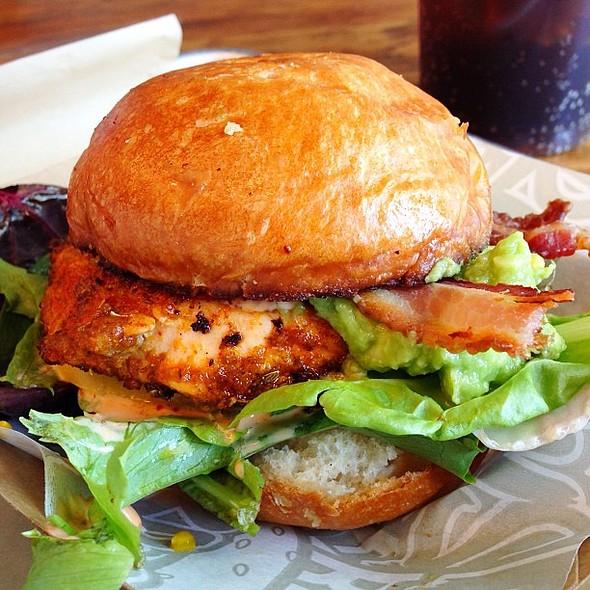 Salmon BLT Slider @ Krush Burger Restaurant