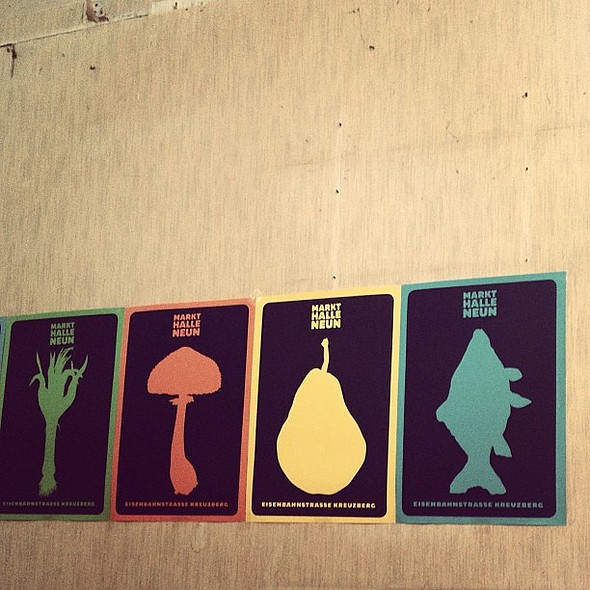 I really wanted to steal these posters. @ Markthalle IX